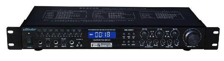 正品威多尔ds-1051混响器 ktv 舞台音响话筒音响人声效果处理器